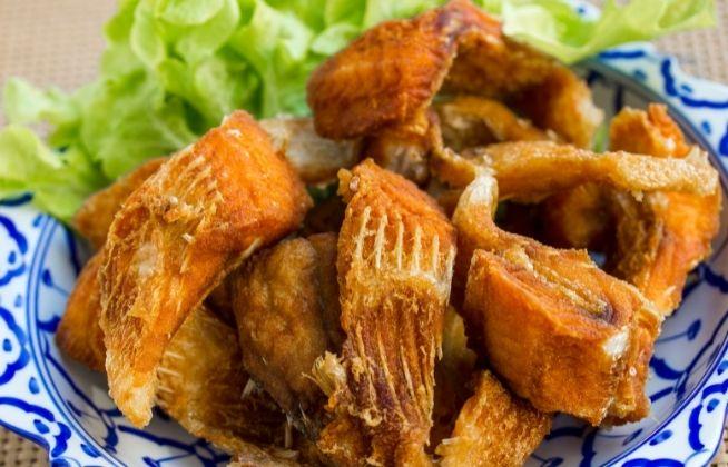 como fazer peixe frito sequinho